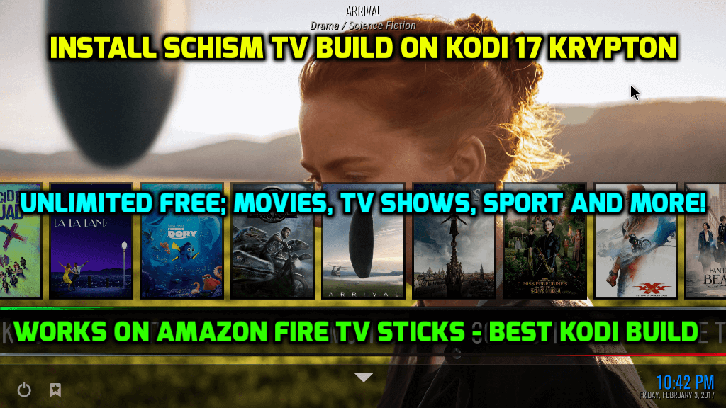How to Install SchisM TV Build on Kodi 17.6 Krypton (Works on Amazon Fire TV Sticks)