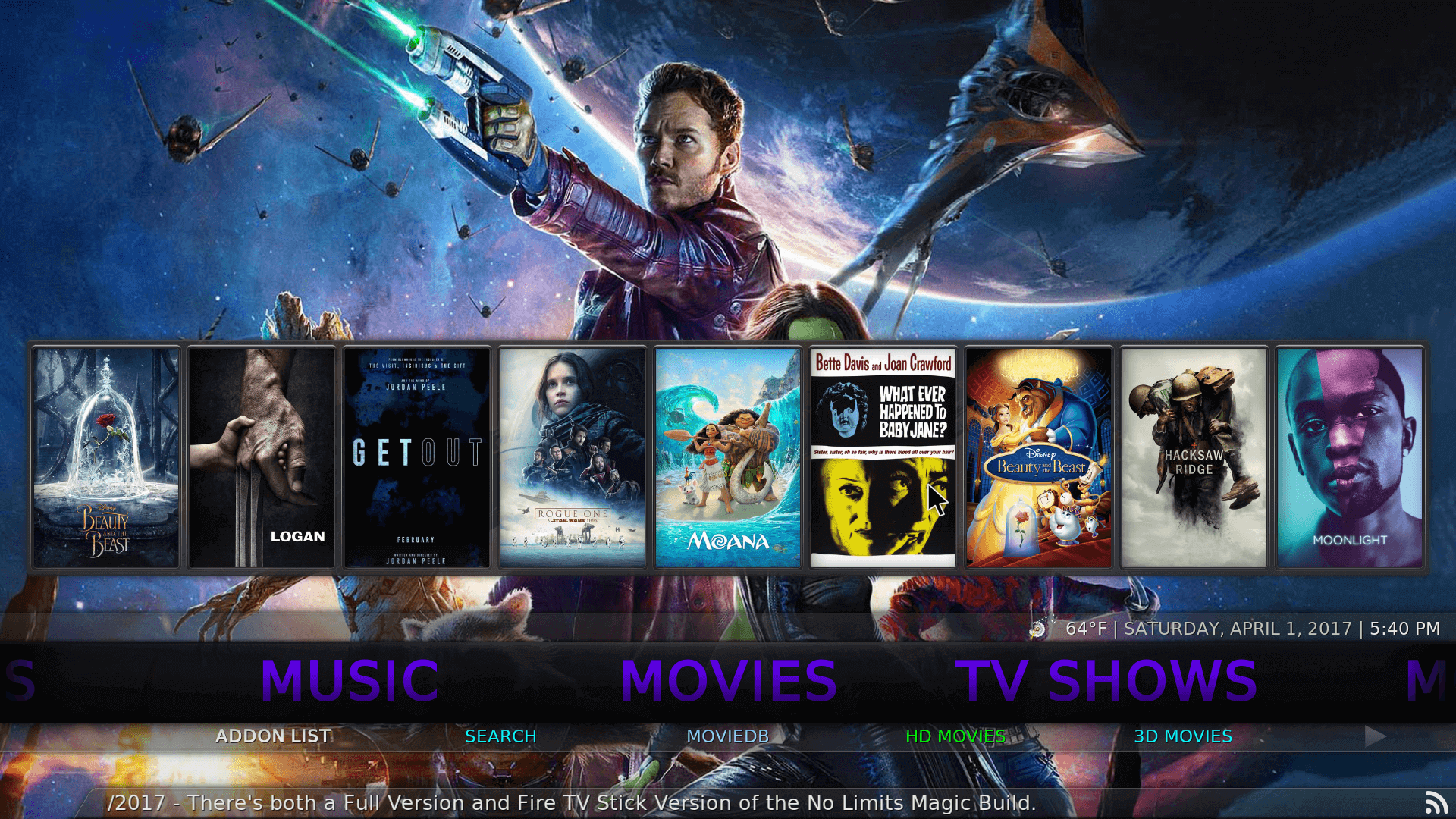 Kodi 17 Krypton No Limits Magic Build