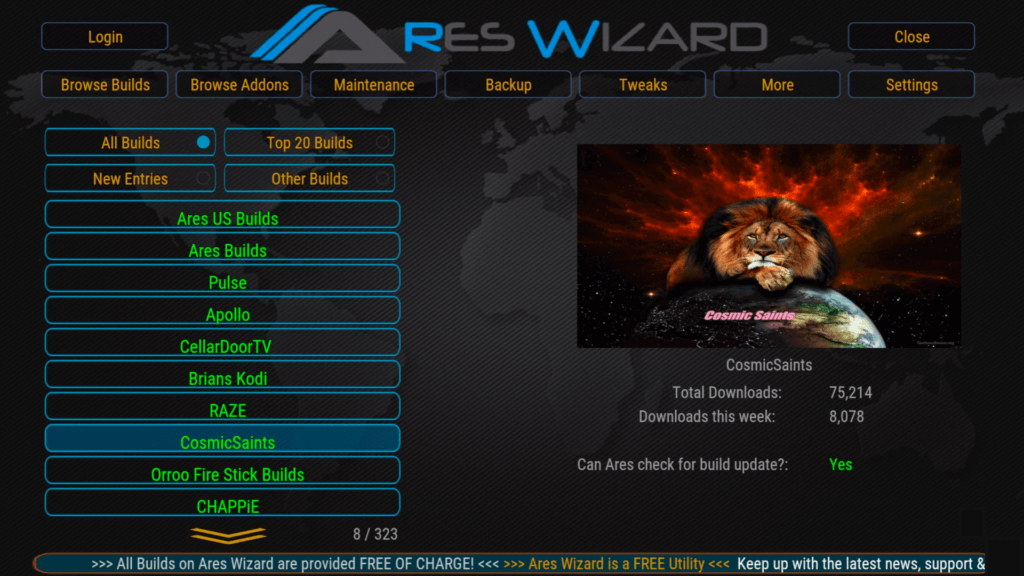 How To Install Ares Wizard Build On