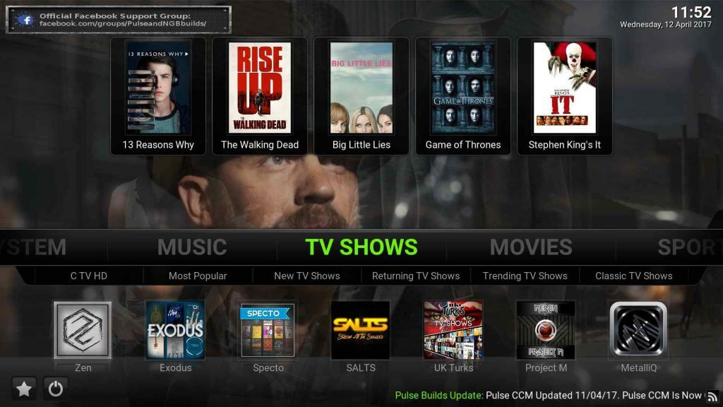 pulse build kodi 17.6 krypton best build