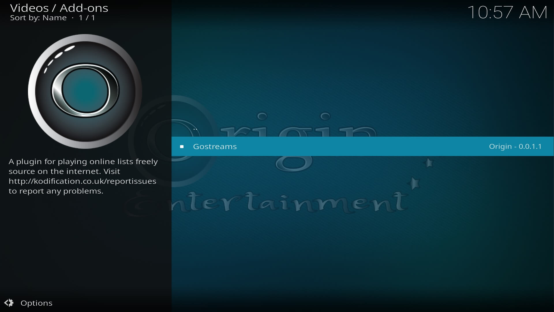 how to install go streams addon on kodi 17.6 krypton