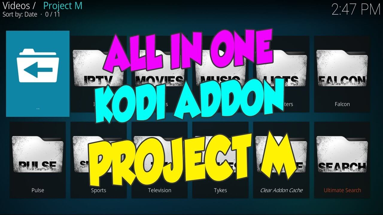 How to Install Project M on Kodi 17.6 Krypton