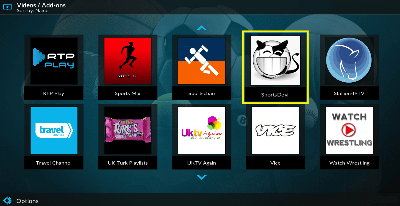 How to Install Sportsdevil Addon on Kodi 17.6 Krypton