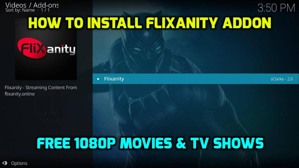 how to install flixanity addon on kodi 17.6 krypton