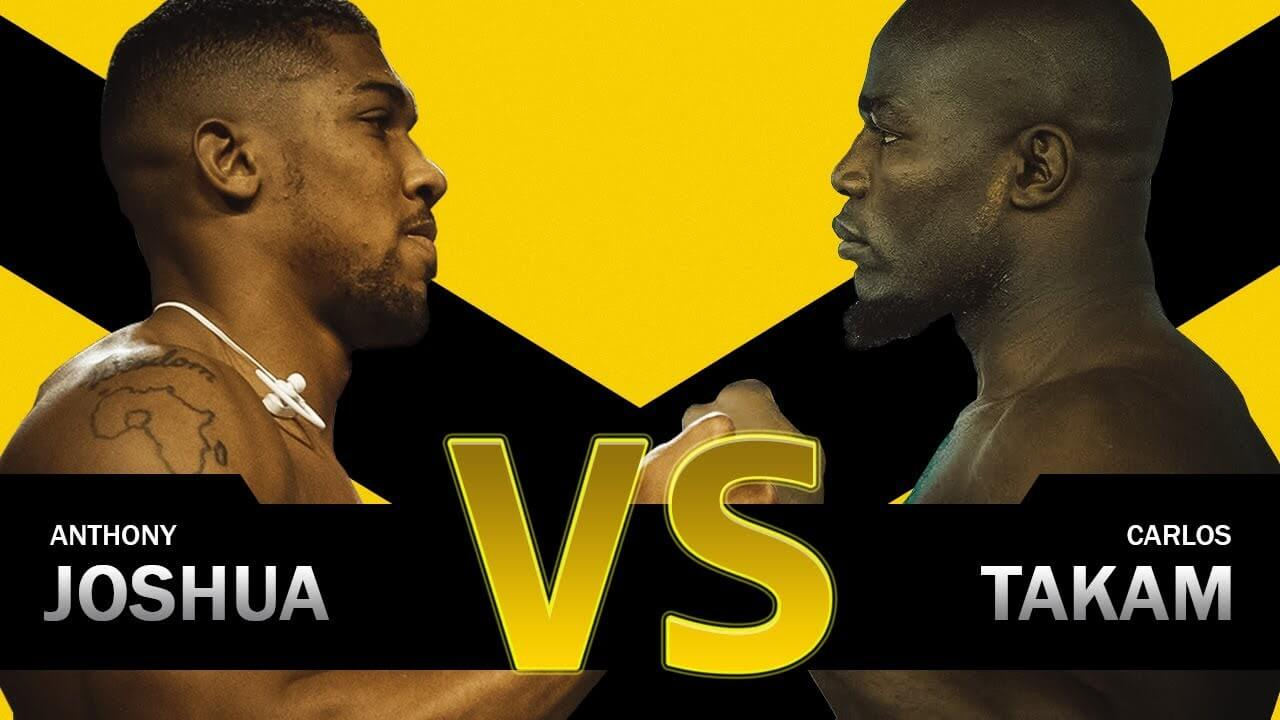 How to Watch Anthony Joshua Vs Carlos Takam Live on Kodi Free