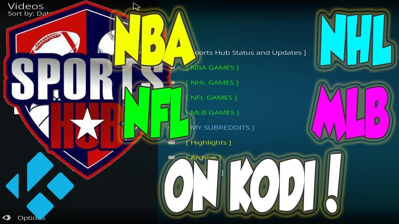 How to Install Sports Hub Addon on Kodi 17.6 Krypton