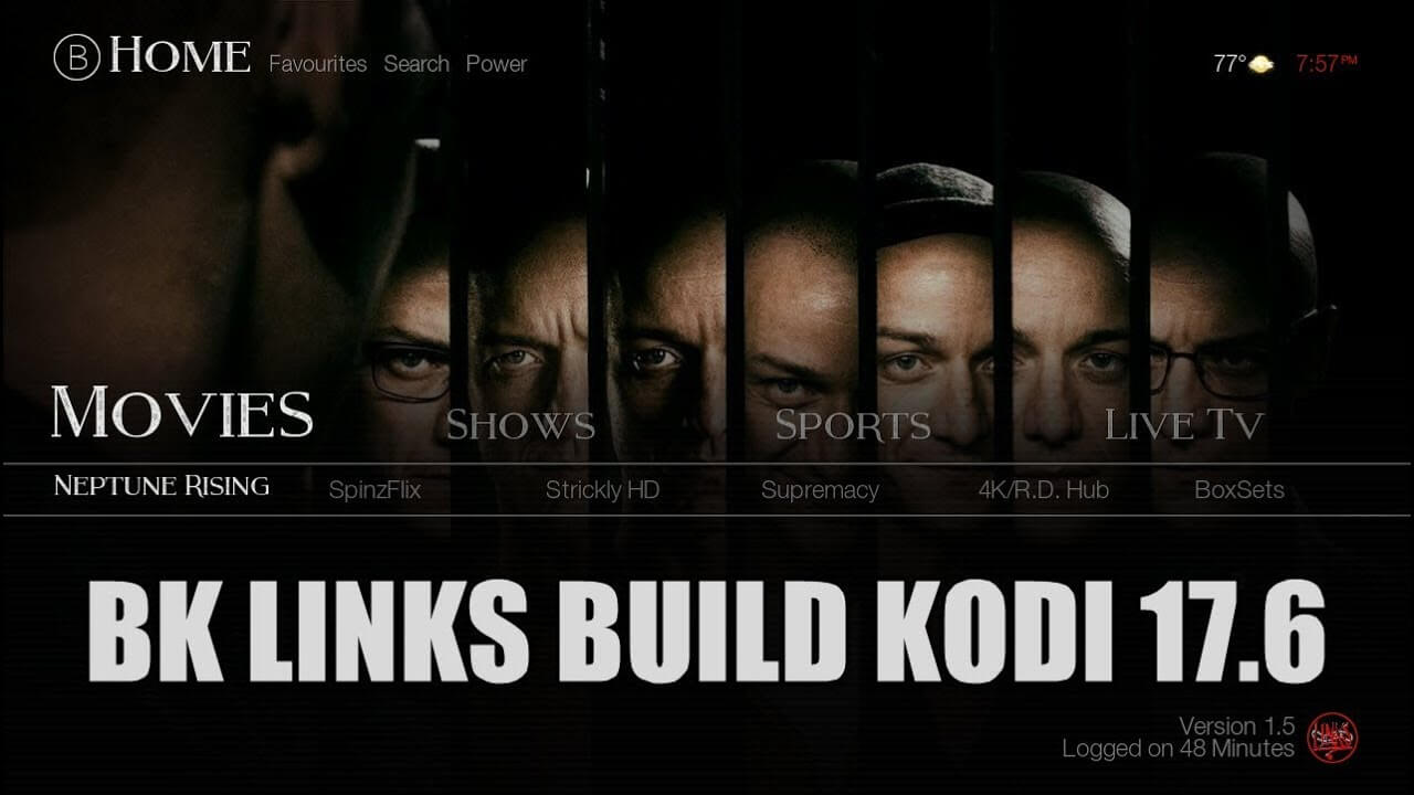 How to Install BK Links Build on Kodi 17.6 Krypton