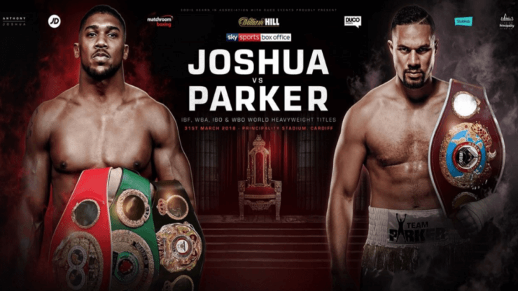 how to watch anthony joshua vs joseph parker fight for free kodi