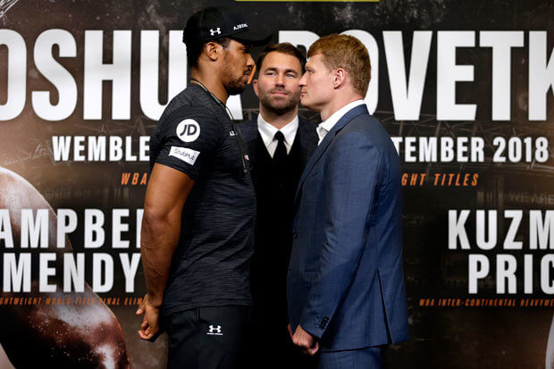 How to Watch Anthony Joshua vs Alexander Povetkin Fight Free on Kodi
