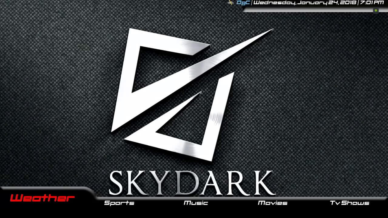 how to install skydark build on kodi 17.6 krypton