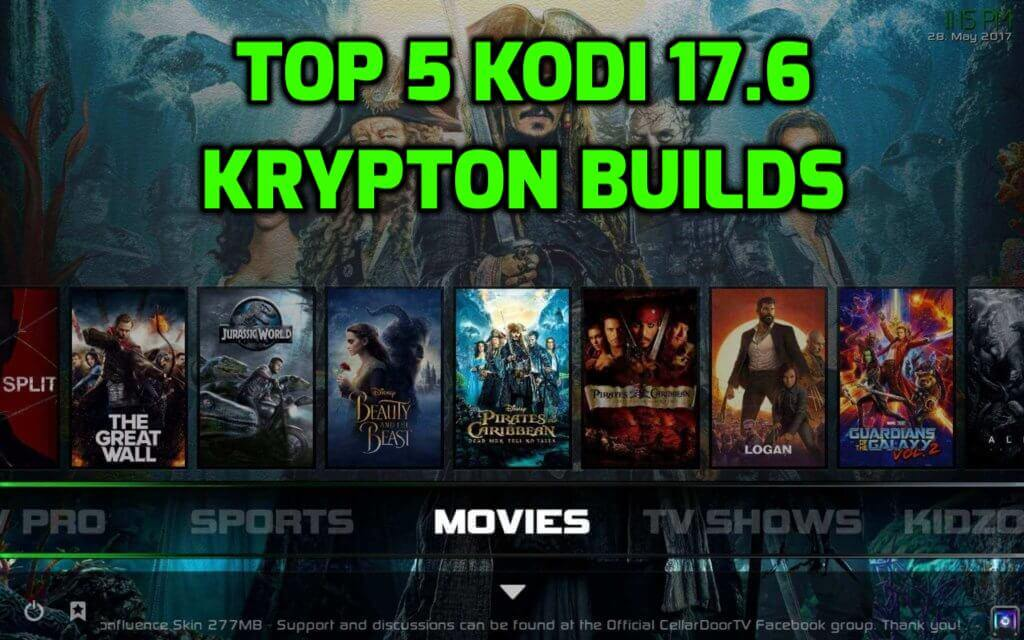 Best Kodi 17.6 Krypton Builds March 2019