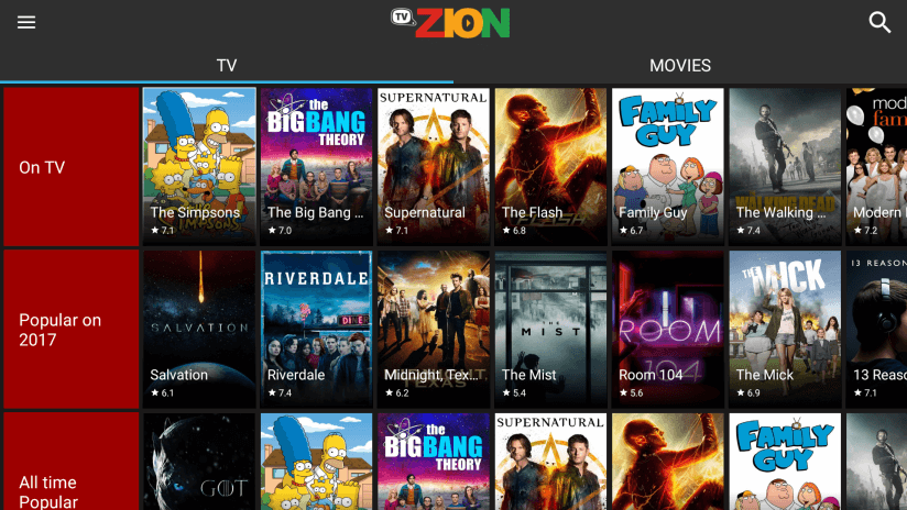 How to Install TVZion – Best Terrarium TV Alternative (Works great on Firestick)